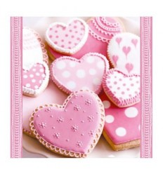 Салфетки сладки сърца