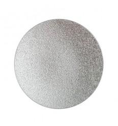 Подложка за свещ сребро