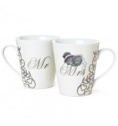 Чаши двойка Г-н и Г-жа MR AND MRS MUGS