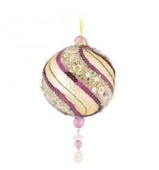 Коледна топка Purple