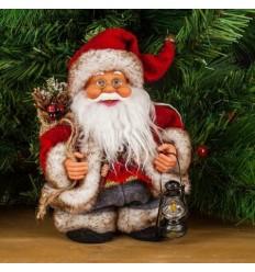 Дядо Коледа - ходещ, музикален 17,5см.