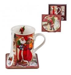Дядо Коледа сет за кафе