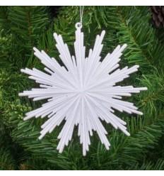 Коледна играчка снежинка