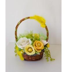 "Шоколадова кошница ""Пролетно царство"""