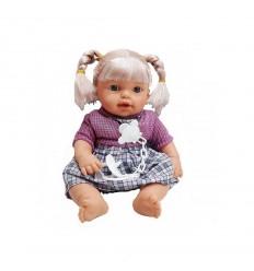 Кукла Бебе с биберон и звуци