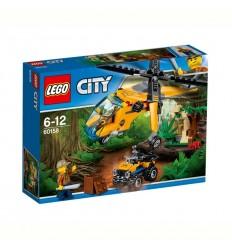 Jungle Товарен хеликоптер LEGO CITY