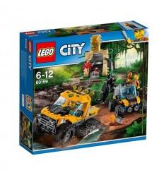 Jungle Мисия за джип с вериги LEGO CITY