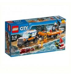 Екип за реакция 4 x 4 LEGO CITY