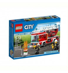 Пожарникарски камион със стълба LEGO CITY FIRE