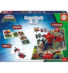 Супер комплект 4 в 1 Spiderman Educa