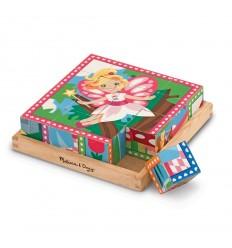 Кубчета дървени 6 принцеси