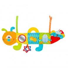 Играчка образователна гъсеничка Babyono