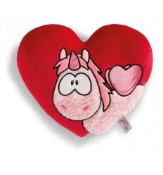 Възглавница Merry Heart heart-shaped 25x22cm