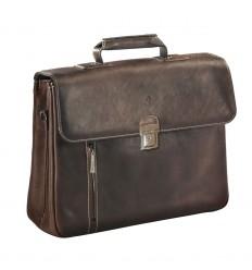 Бизнес чанта естествена кожа Busquets