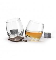Чаши за уиски с кубчета изкуствен лед 2бр. Sagaform