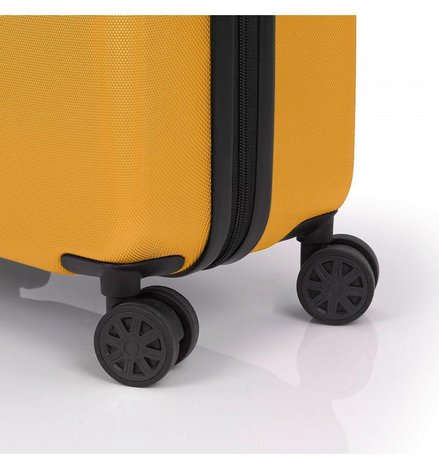 f3a00b20fe0 ABS куфар 55 см. жълт – Paradise на цена 118,20 лв — избери за ...